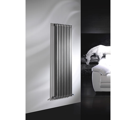 DQ Heating Modus 3 Column 2500mm High White Radiator - 4 To 44 Sections