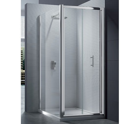 Merlyn 6 Series 4mm Clear Glass Bi-Fold Shower Door 1000mm - M67231
