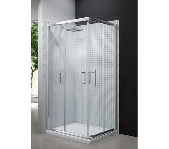 Merlyn 6 Series Corner Double Sliding Door Shower Enclosure 900 x 1900mm