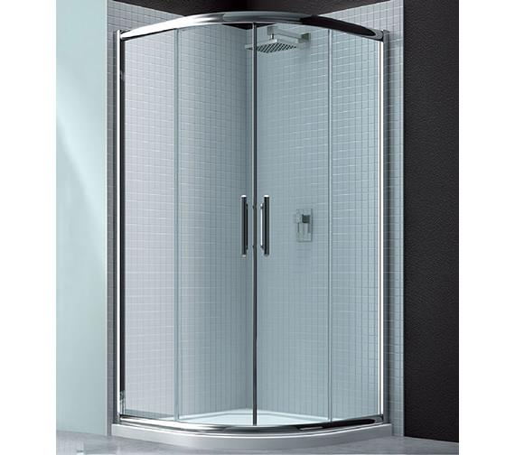 Merlyn 6 Series Double Sliding Door Quadrant Enclosure 900 x 900mm