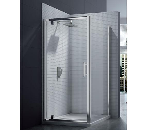 Merlyn 6 Series 8mm Clear Glass Pivot Shower Door 760-800mm - M61211