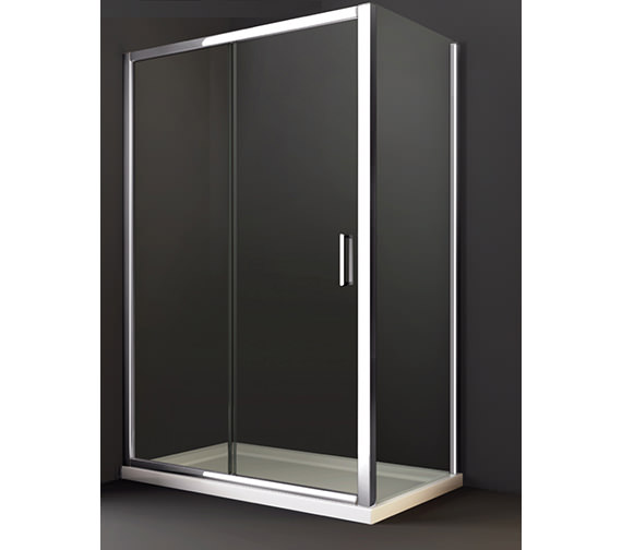 Additional image of Merlyn 8 Series 1200 x 1950mm Sliding Shower Door - M88241