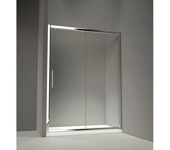 Merlyn 8 series 1700 x 1950mm sliding shower door m88281 for 1700 shower door
