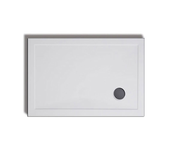 Lakes Traditional Low Profile Rectangular Stone Resin Tray 800 x 700mm