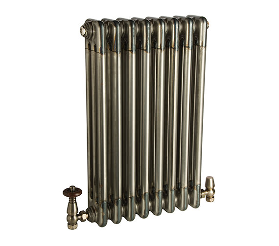 DQ Heating Adara Varnish 3 Column Radiator - 892mm High