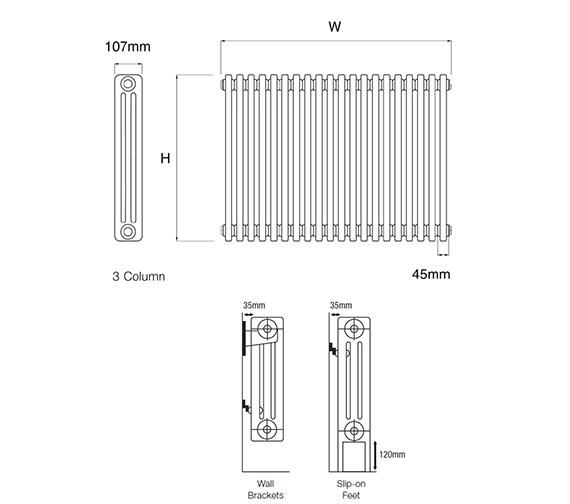 Technical drawing QS-V43836 / A3.600/3