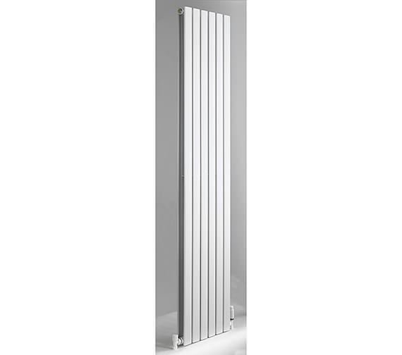 DQ Heating Axis White Double Flat Panel Vertical Radiator 408mm x 1800mm