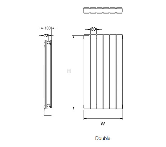 Technical drawing QS-V17014 / Axis 180/6D