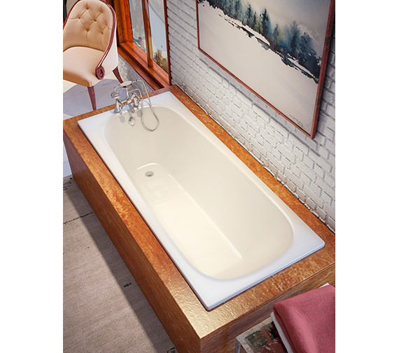 Bette Form Rectangular Super Steel Bath 1600 x 750mm