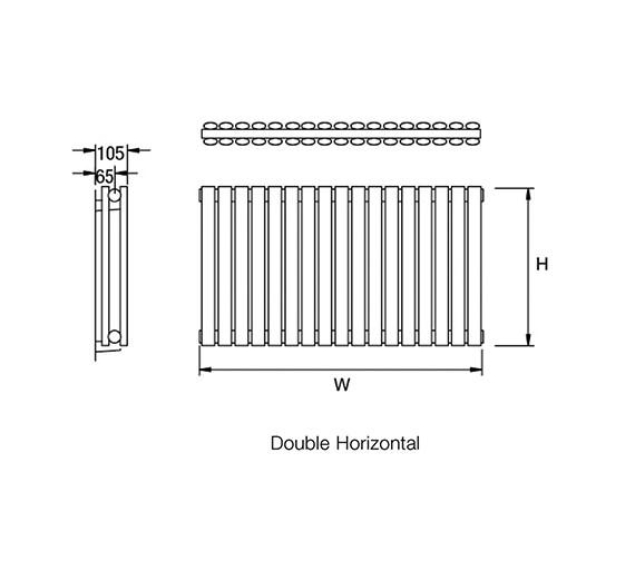 Technical drawing QS-V18137 / Cove S600/7D