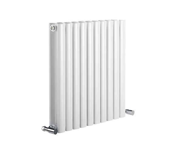 DQ Heating Cove 590 x 550mm Double Sided Horizontal Radiator White