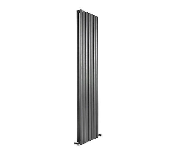DQ Heating Cove 413 x 1500mm Double Sided Vertical Radiator Anthracite