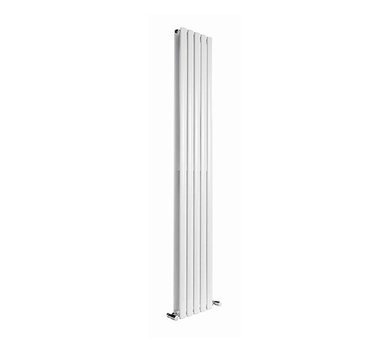 Additional image of DQ Heating Cove 413 x 1500mm Double Sided Vertical Radiator Anthracite