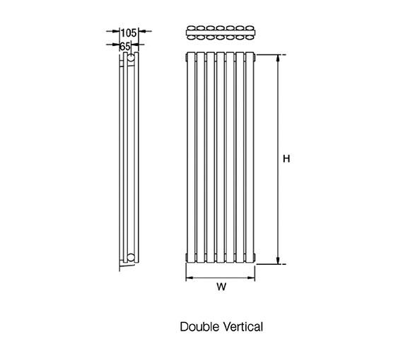 Technical drawing QS-V18143 / Cove S180/5D