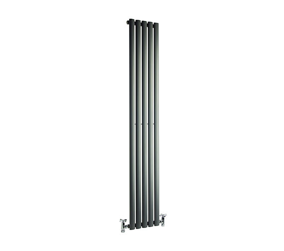 DQ Heating Cove 531 x 1800mm Single Sided Vertical Radiator Anthracite