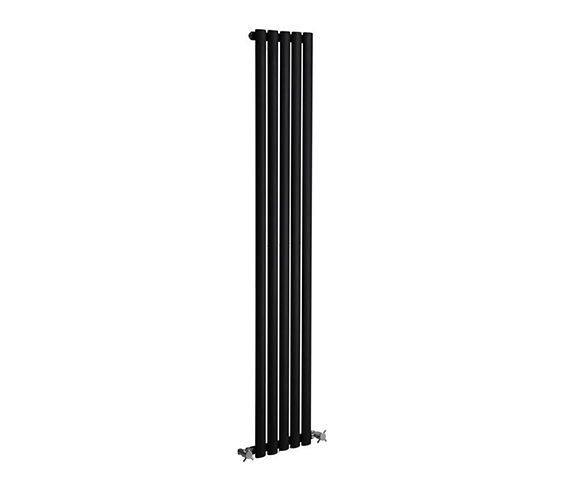 Additional image of DQ Heating Cove 531 x 1800mm Single Sided Vertical Radiator Anthracite