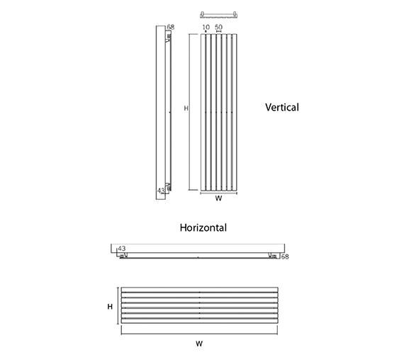 Technical drawing QS-V49597 / Delta 160/4 V