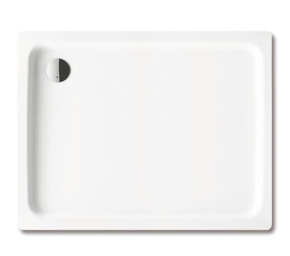 Kaldewei Ambiente Duschplan 750 x 1000 x 65mm Steel Shower Tray White