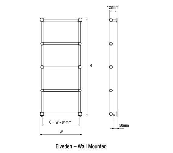 Technical drawing QS-V18762 / Elveden-3 W