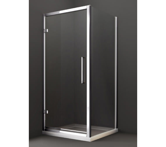Additional image of Merlyn 8 Series 1000 x 1950mm Hinge Shower Door - M81231