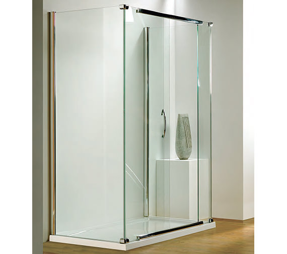 Infinite 1500mm Straight Slider Door Side Access With Tray And Waste