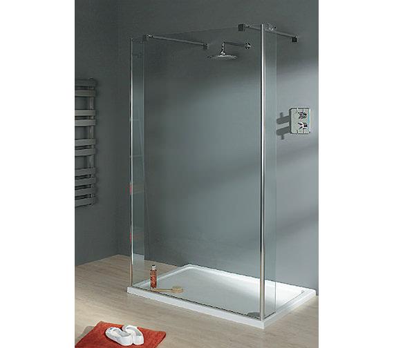Lakes Italia Celino Walk In Shower Enclosure 1000 x 750mm