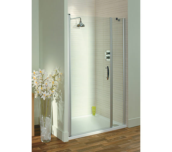 Lakes Italia Latina Semi-Frameless Pivot Door 1200 x 1975mm