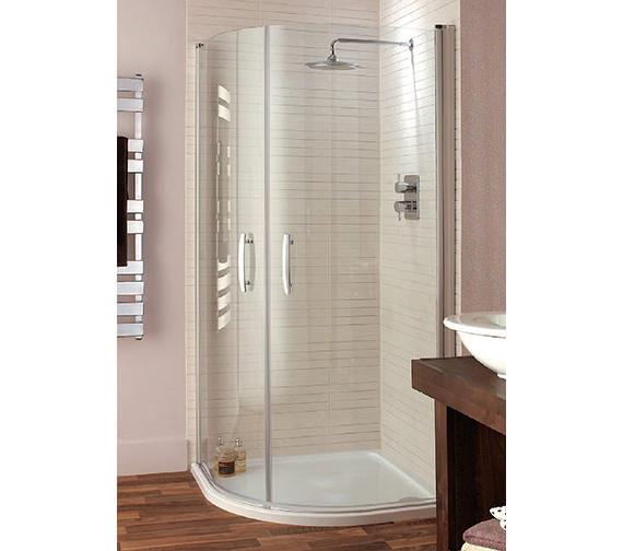 Lakes Italia Lavello Pivot Door Quadrant Shower Enclosure
