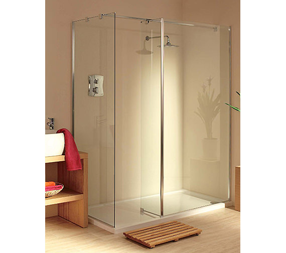 Lakes Italia Padova Walk-In Shower Enclosure 1400 x 800mm