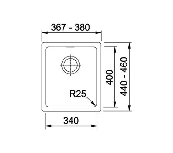 Technical drawing QS-V34363 / 1250153567