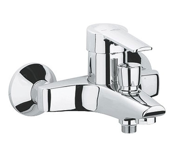 Grohe Eurostyle Chrome Bath Shower Mixer Tap - 25107000