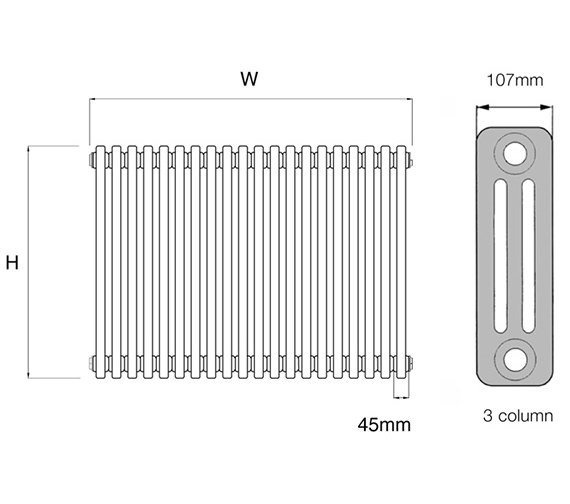 Technical drawing QS-V17039 / PetaE 3.500/20