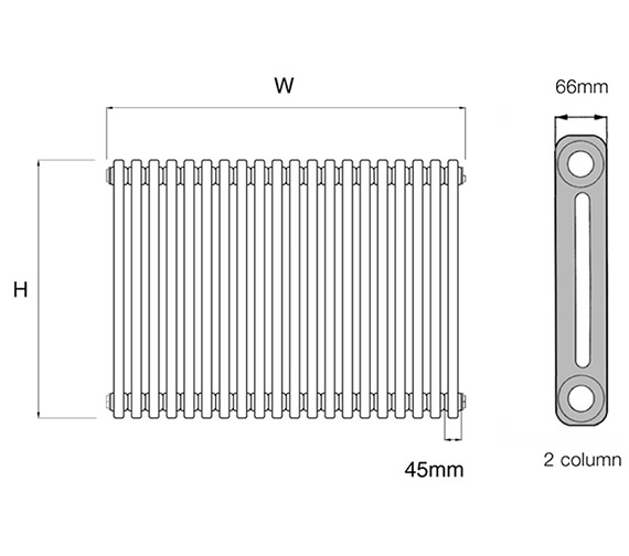 Technical drawing QS-V17046 / PetaE 4.600/10