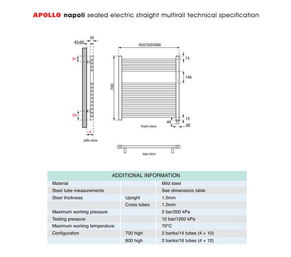 Technical drawing QS-V35288 / EASC6W700