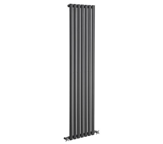 Reina Neva Single Panel Vertical Radiator 295 x 1500mm Anthracite