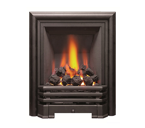 Be Modern Savannah Slimline Inset Gas Fire Black-Coal - 81078