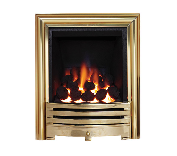 Be Modern Contessa Inset Gas Fire Brass