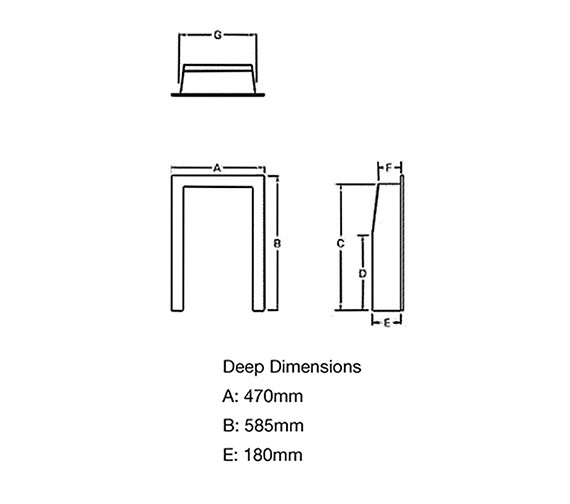 Technical drawing QS-V39791 / 81523