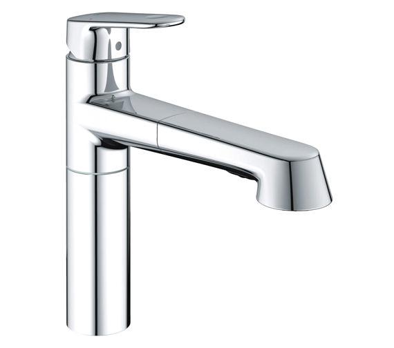 Grohe Europlus Sink Mixer Tap Chrome - 33933002
