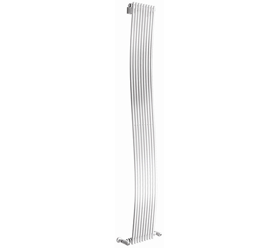 Apollo Rimini White Wave Tube-on-Tube Vertical Radiator 300 x 1800mm