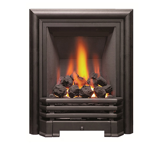 Be Modern Savannah Full Depth Inset Gas Fire Black-Coal - 81094