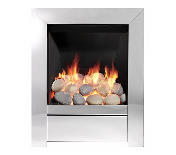 Be Modern Sensation Full Depth Inset Gas Fire Chrome - 83593