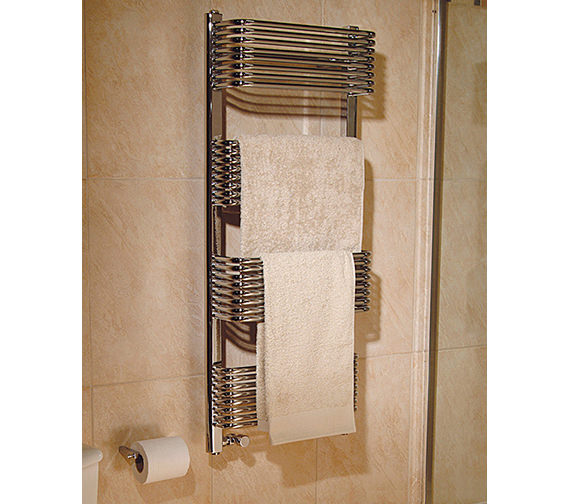 Apollo Trieste Superior Plus White Towel Warmer 600 x 1600mm