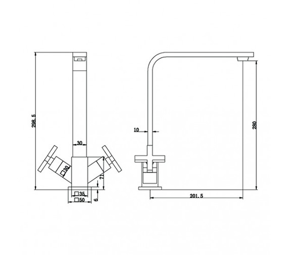 Technical drawing QS-V21751 / KIT155