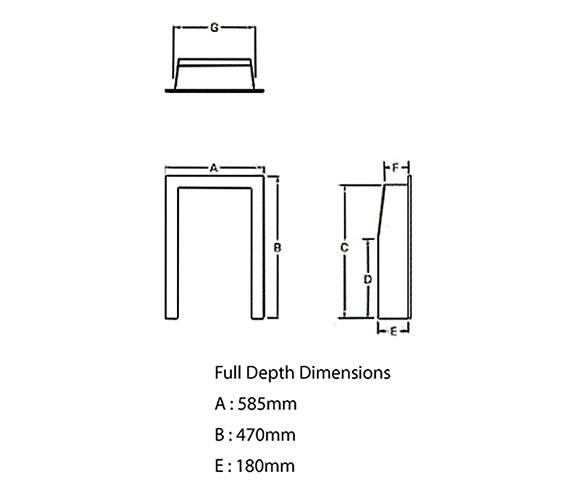 Technical drawing QS-V22013 / 00961X