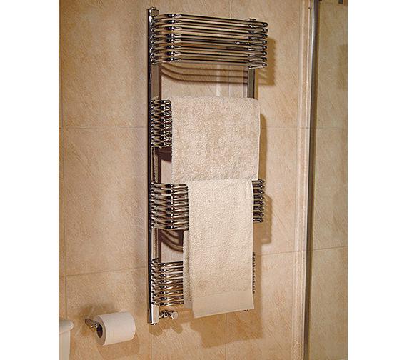 Apollo Trieste Superior Plus Chrome Towel Warmer 600 x 1070mm