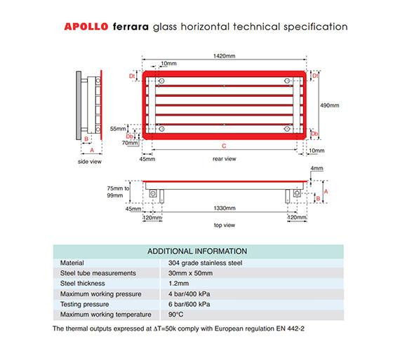 Technical drawing QS-V55881 / FG14SS6S_RED