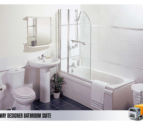 Lauren Sub Way Designer Bathroom Suites