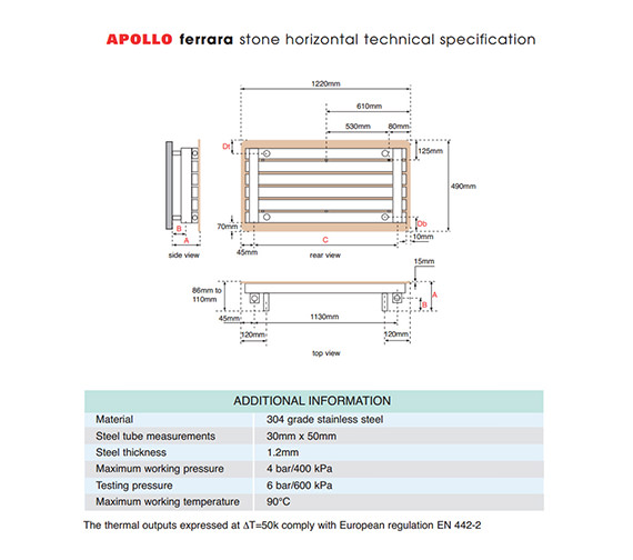 Technical drawing QS-V61564 / FS12SS6S_STONE