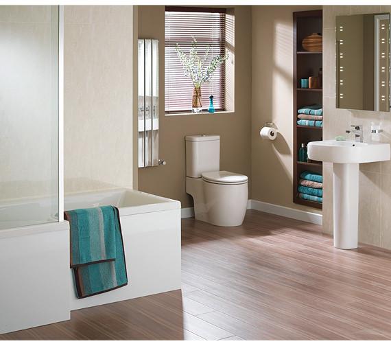 Essential Eternity Square Complete Bathroom Suite